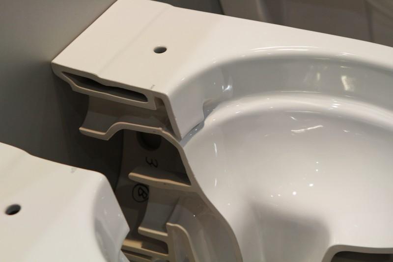 Toilet Zonder Spoelrand : Spoelrandloos toilet bekroond op batibouw installatie