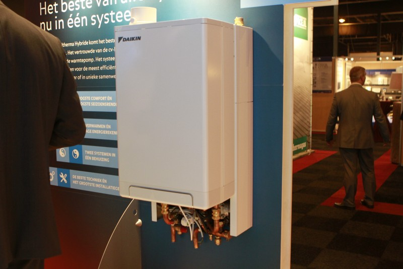 Hybride warmtepomp intergas