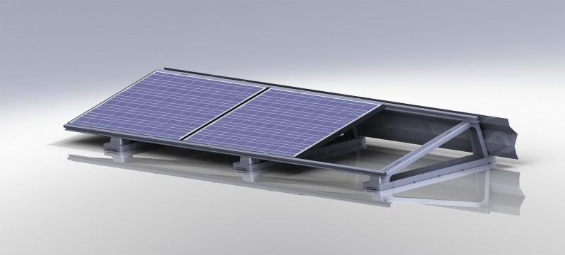 Lichtgewicht Montagesysteem Pv Panelen Installatie Nl