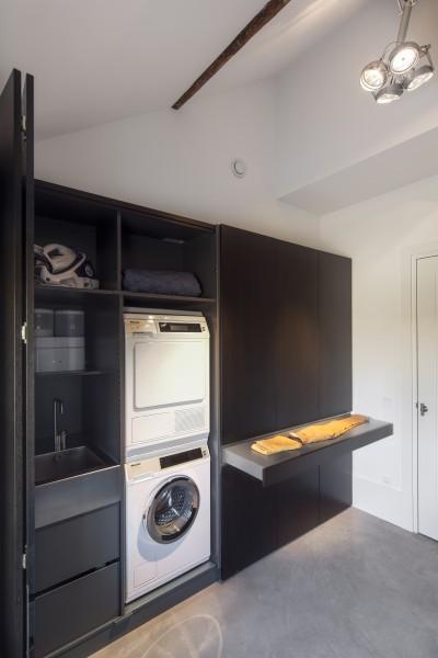 Ruimtegebrek is relatief - Moderne wasruimte ...