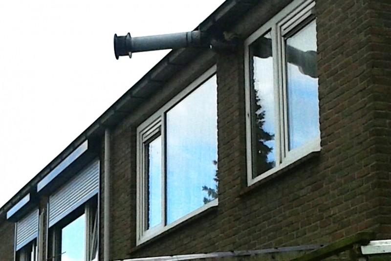 Vaak Ventilatie-afvoer en duiventil - Installatie.nl ZG04