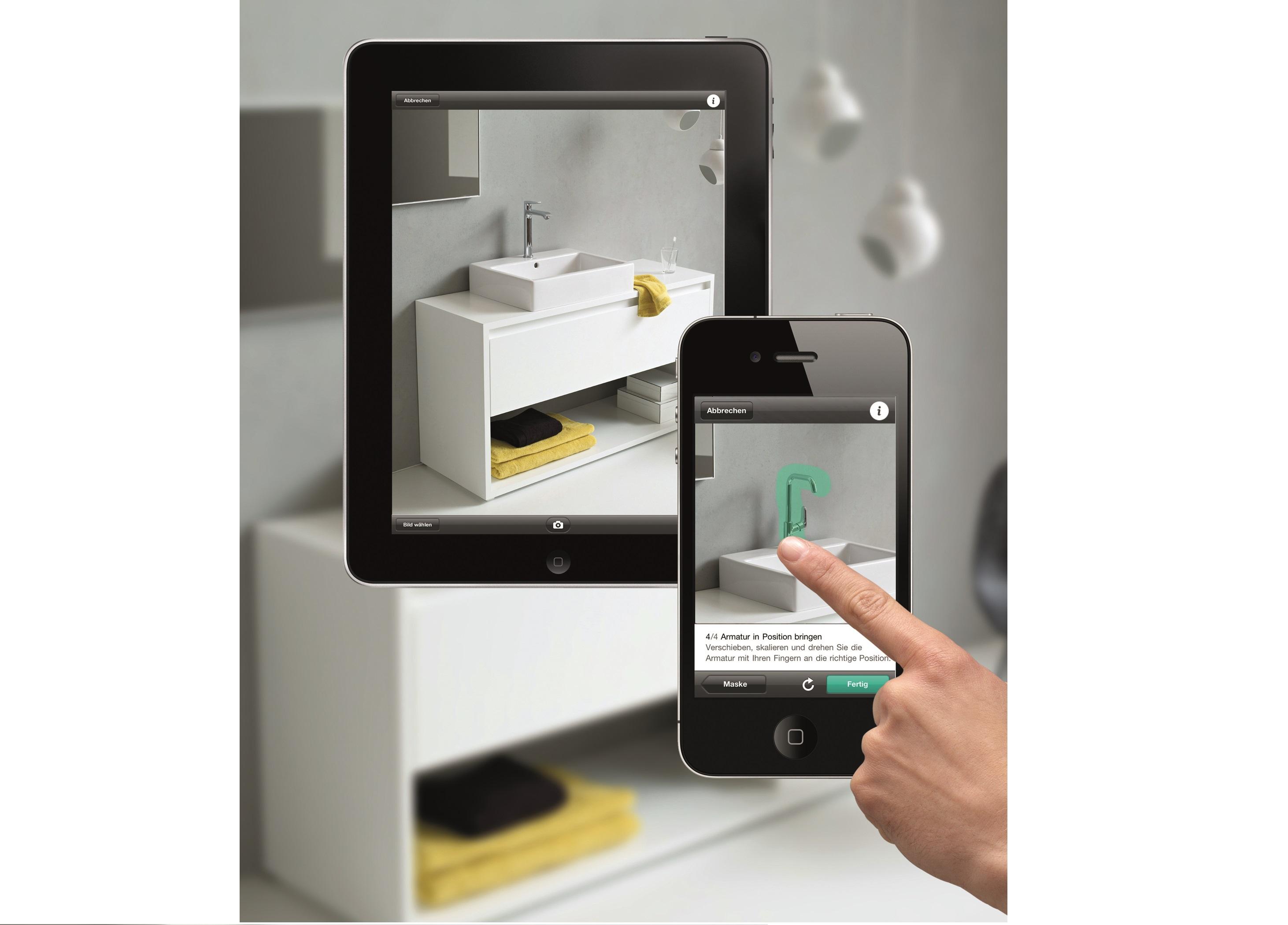 Badkamer en keuken indelen met app for App badkamer ontwerpen