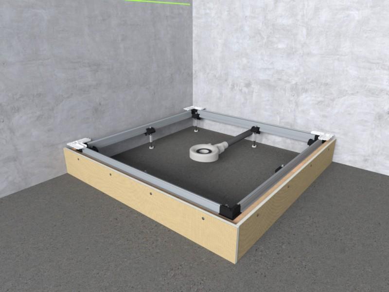 Bekend Inbouwraam voor douchebakken - Installatie.nl MN33