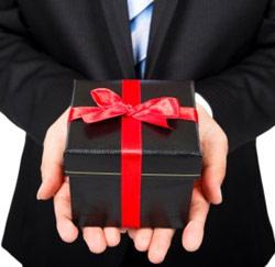 cadeau krijgen