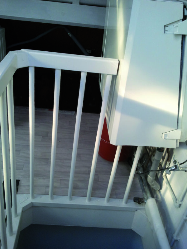 installatiefout balustrade 2