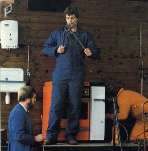 Installatie van weleer, cover 1982