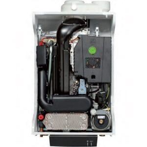 Moderne HR-ketels zijn uitgerust met A-labelpompen met magneten, die metaaldeeltjes als vervuiling zouden aantrekken.