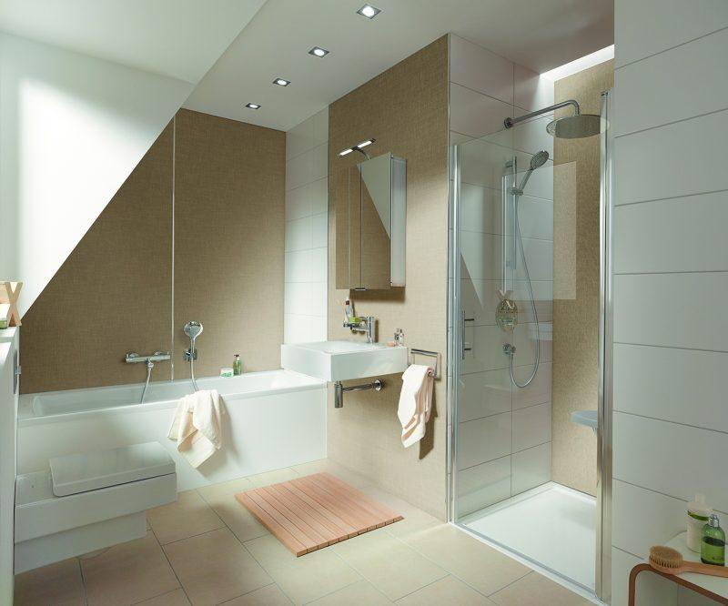 Wandbekleding voor badkamerrenovatie - Installatie.nl