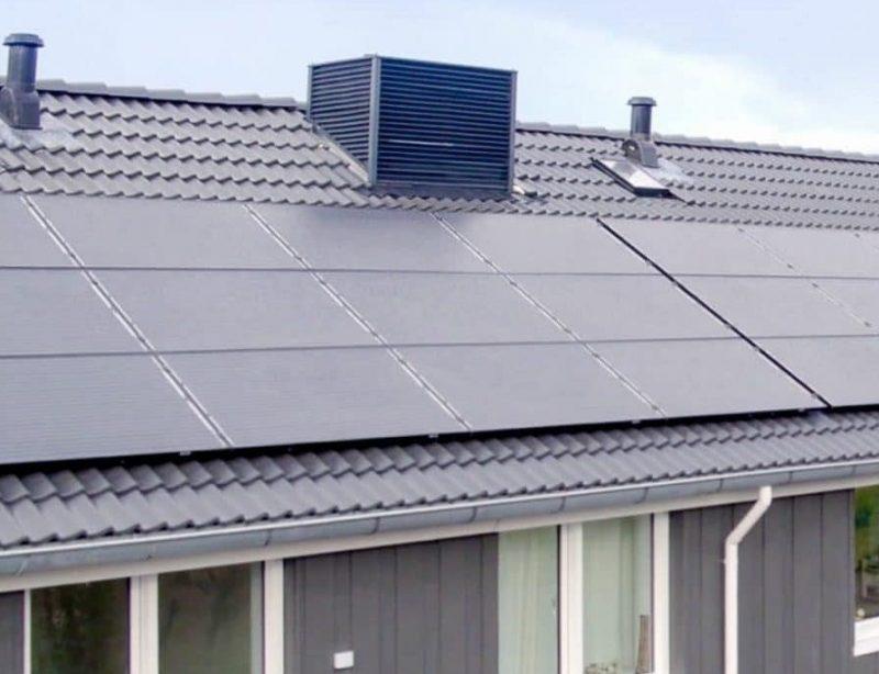 Badkamer Ventilator Dak : Buitenunit bereikbaar in dak installatie.nl