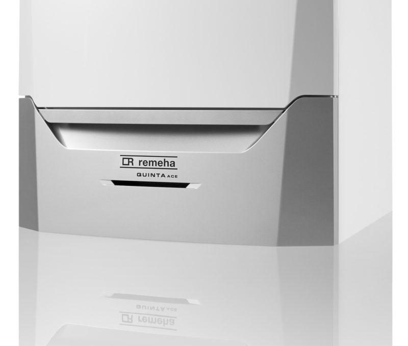898855f6fd3 De Quinta Ace komt ook in kleinere vermogens op de markt. Het  utiliteitstoestel van Remeha was al als 160 kW-toestel op de markt, en is  nu ook verkrijgbaar ...