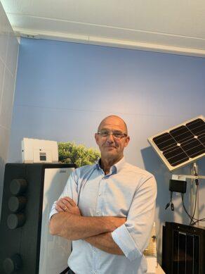 Installateur in beeld, Piet Jansen
