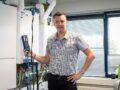 Arjen Binkhorst, Installateur in beeld, hybride docent