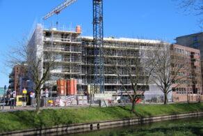 nieuwbouw, bouwplaats, bouw