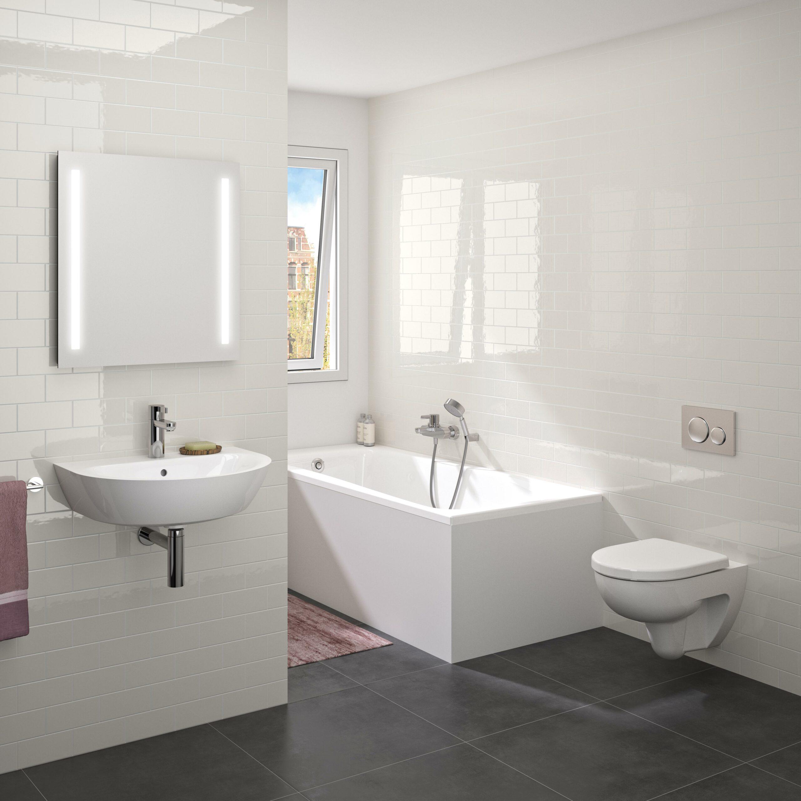 Nieuwe Basisserie Voor Badkamer Installatie Nl